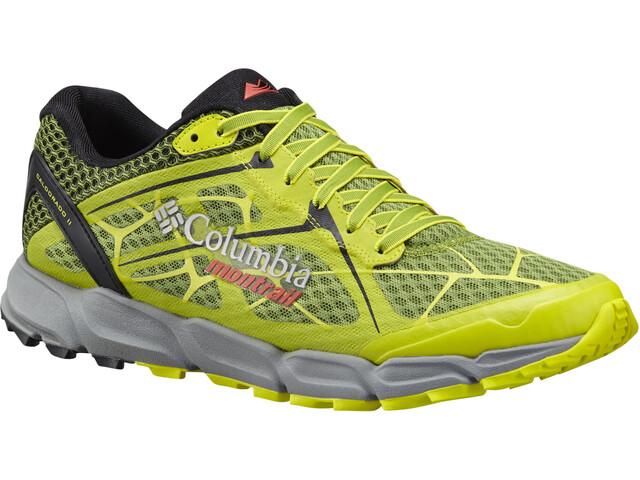 Columbia Caldorado II Buty do biegania Mężczyźni zielony